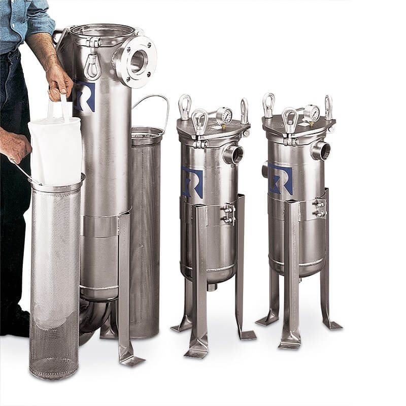 Rosedale Model 8 Filter Vessels Available at PS Filter – Filtration Equipment Manufacturers
